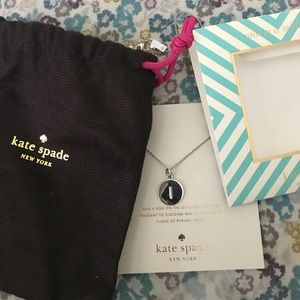 Kate Spade One in a million necklace Letter I